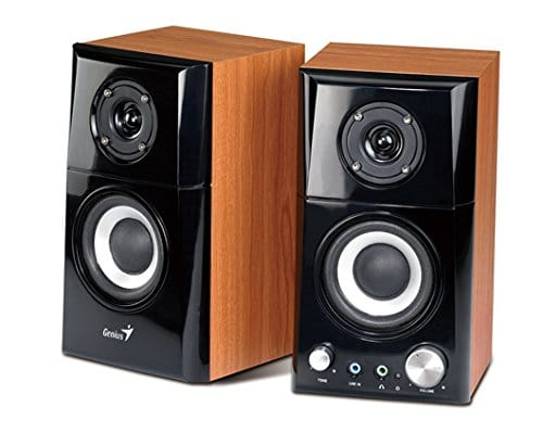 Genius Hi-Fi Wood Speaker for Computers