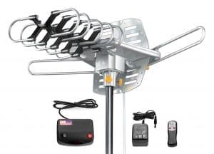 Amplified HD Digital Outdoor HDTV Antenna 150 Miles Long Range