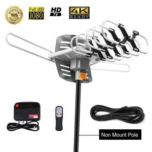 Sobetter Amplified Outdoor Digital Long Range TV Antenna