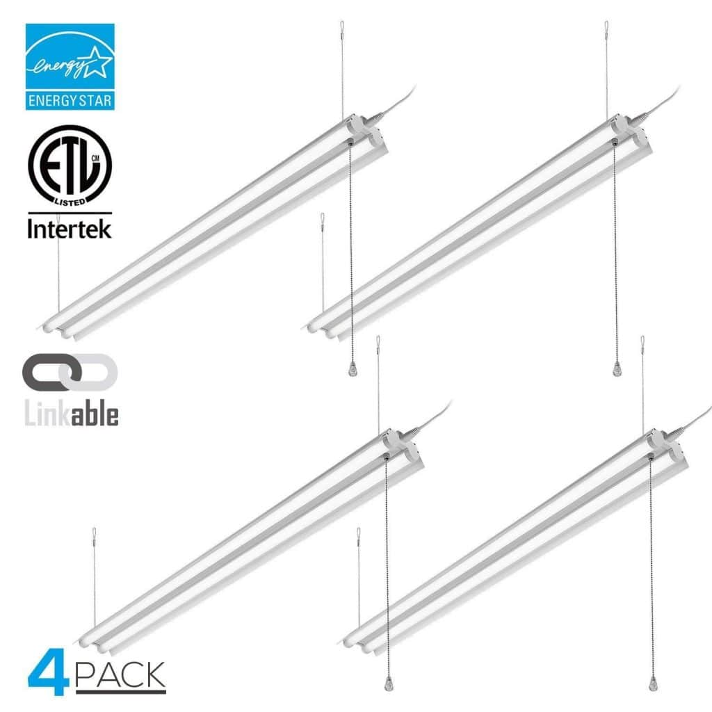 LeonLite 4ft Linkable LED Shop Light