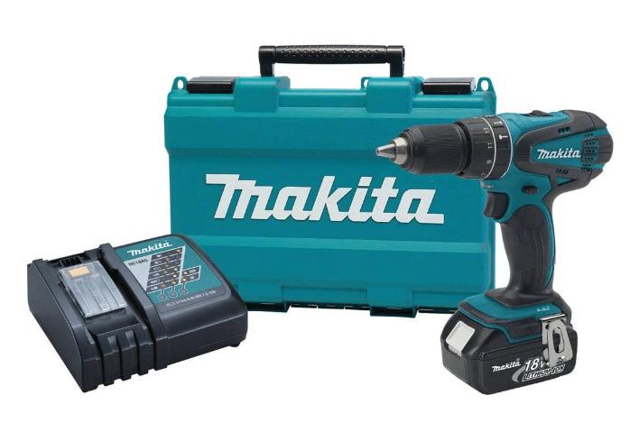 Makita XPH012 18V LXT Lithium-Ion Cordless 1/2-Inch Hammer Driver-Drill Kit