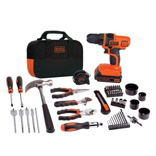 BLACK+DECKER LDX120PK Lithium Drill and Project Kit