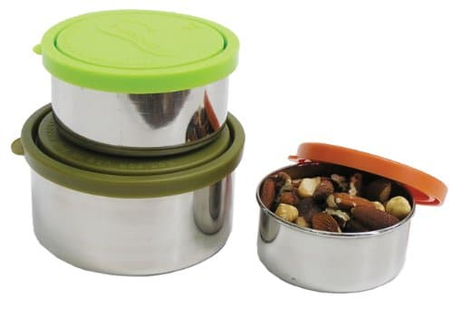 U Konserve Nesting Trio Stainless-Steel Containers with Leak