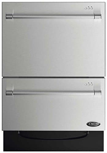 "DCS DD24DV2T7 24"" Energy Star Qualified Double DishDrawer Dishwasher"