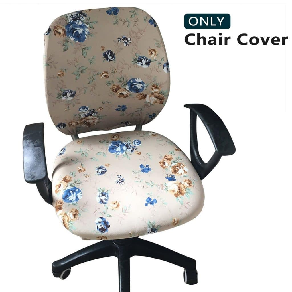 Meloshow Computer Office Chair Covers - Office Chair Covers