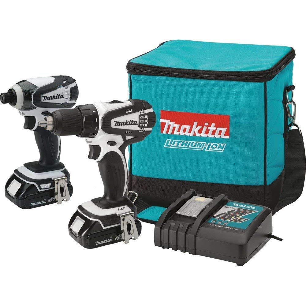 Makita CT200RW 18V Compact Lithium-Ion Cordless Combo Kit