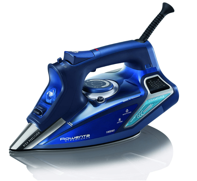 Rowenta DW9280 Steam Force 1800-Watt Professional Digital LED Display Iron with Stainless Steel Soleplate