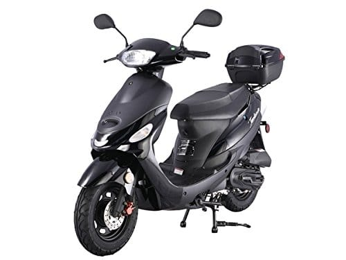 Taotao 50cc Gas Street Legal Scooter ATM50-A1 Scooter Black