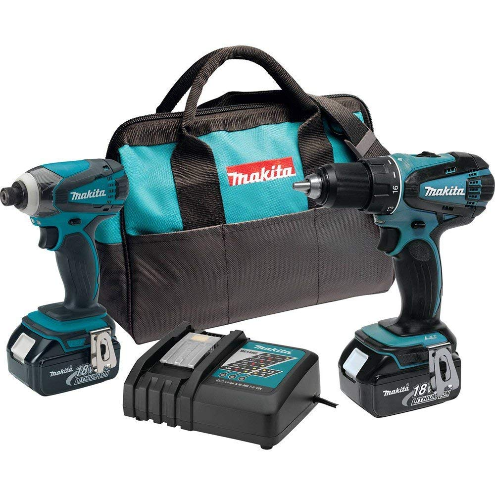 Makita XT260 18-volt LXT Lithium-Ion Cordless Combo Kit