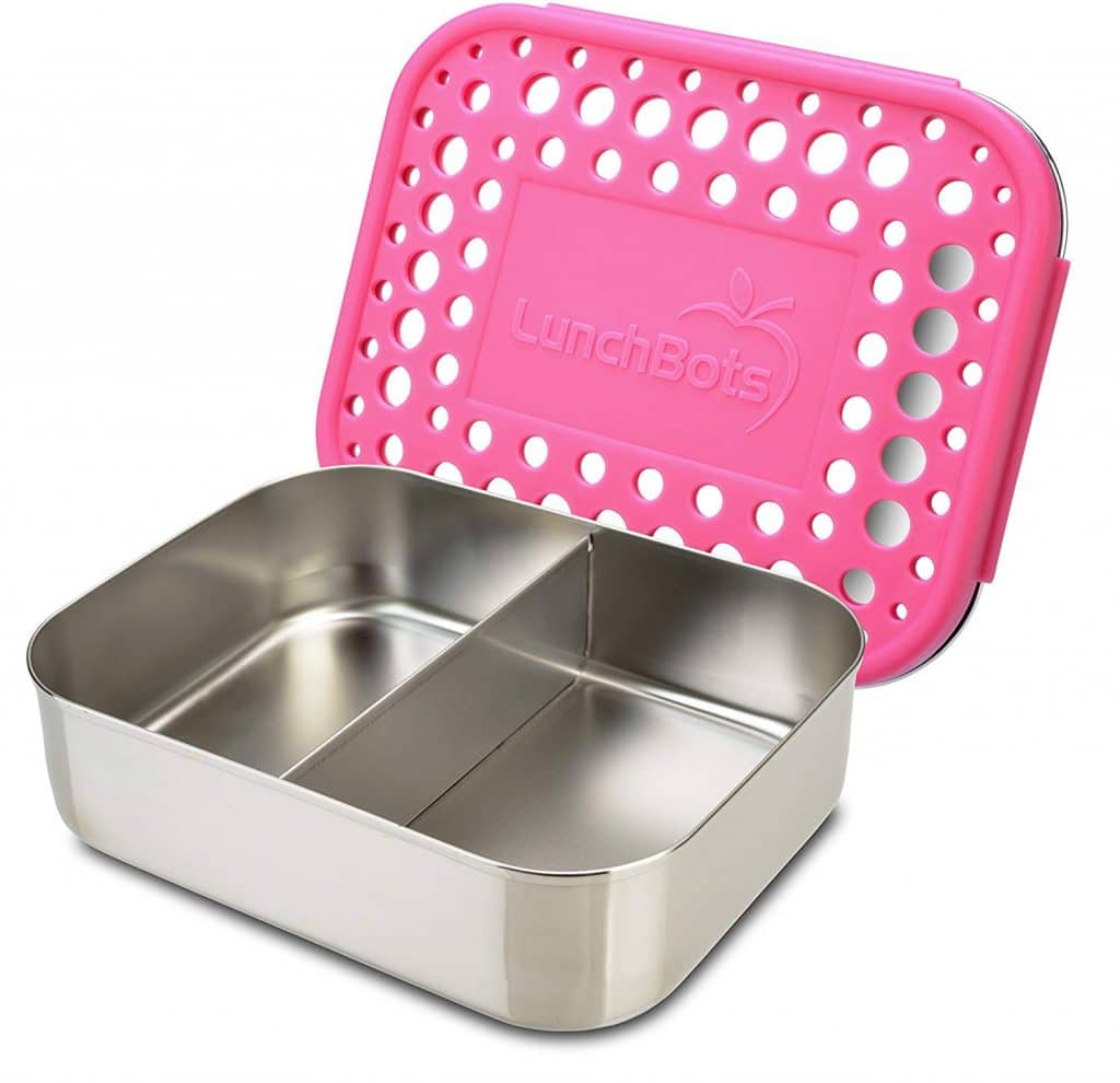LunchBots Duo Stainless Steel Food Container