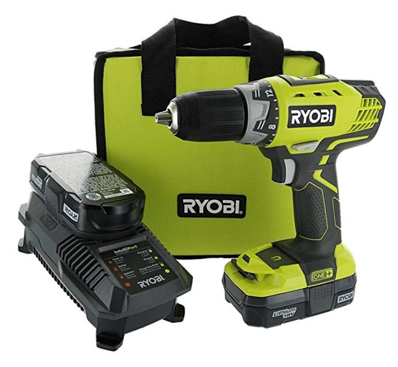 Ryobi P1811 One+ Compact Drill