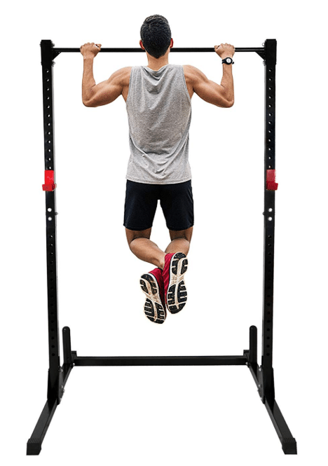 F2C Adjustable Height Power Squat Rack Cage Stand System