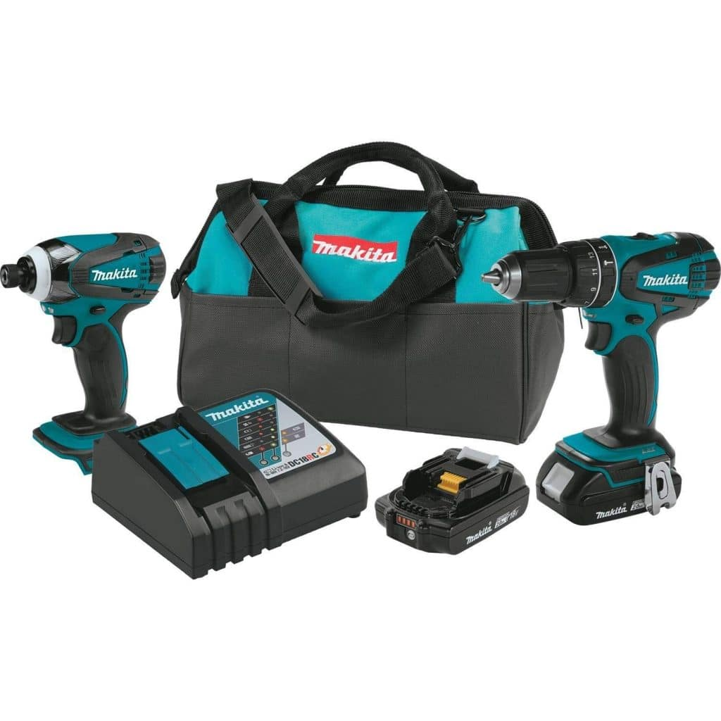Makita XT273R 18V LXT Lithium-Ion Compact Cordless 2-Pc
