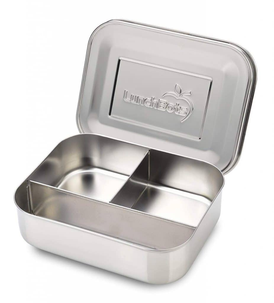 LunchBots Trio Stainless Steel Food Container