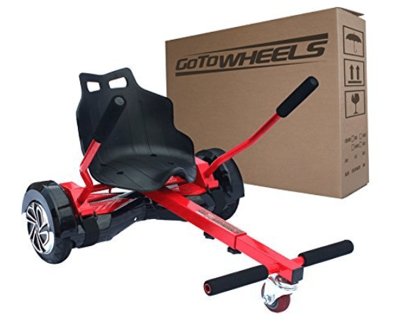 GoToWheels Adjustable Hoverboard Kart
