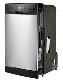 "SPT SD-9252SS Energy Star 18"" Built-In Dishwasher"