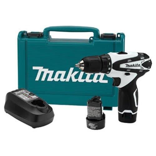 Makita FD02W 12V max Lithium-Ion Cordless 3/8-Inch Driver-Drill Kit