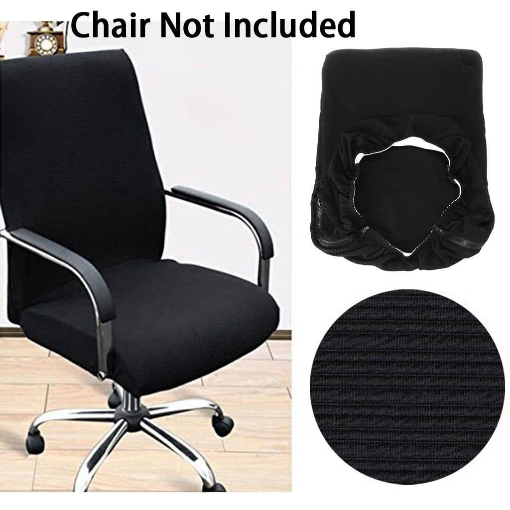 BTSKY Office Computer Chair Covers Stretchy - Office Chair Covers