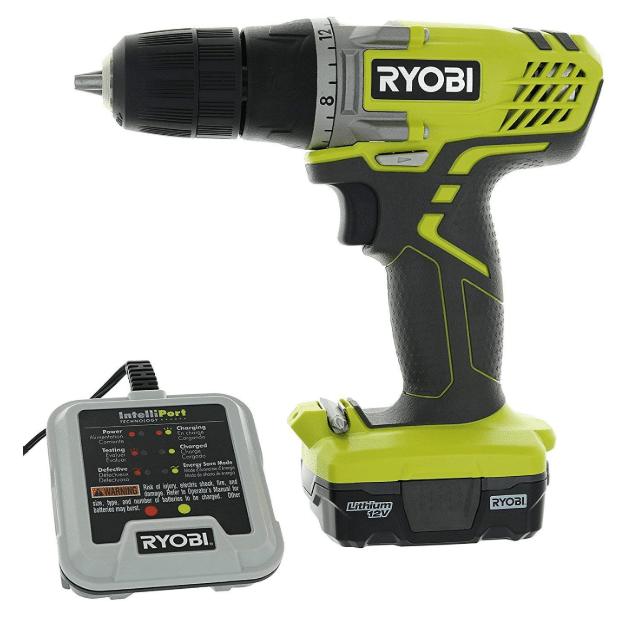 """Ryobi HJP004L 3/8"""" 12 Volt Drill"""