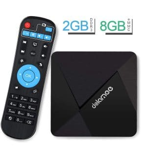 DOLAMEE D5 (4K) Android TV Box