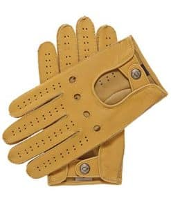 Fratelli Orsini Men's Handsewn Deerskin Driving Gloves