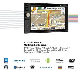 Jensen VX7020 Multimedia Navigation