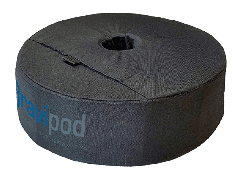 "GRAVIPOD 18"" Round Umbrella Base Weight Bag"