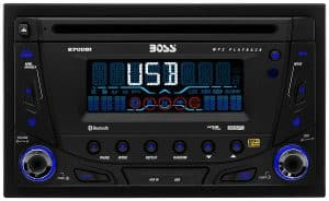 BOSS 870DBI Double DIN Bluetooth Detachable