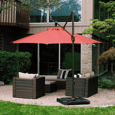 Abba Patio Cantilever Offset Umbrella Base Plate Set