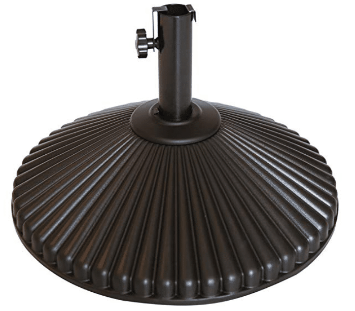 Abba Patio 50 lbs Round Patio Umbrella Base Recyclable Plastic