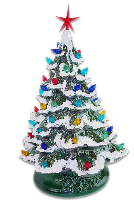 starry night 15 lighted best ceramic christmas tree