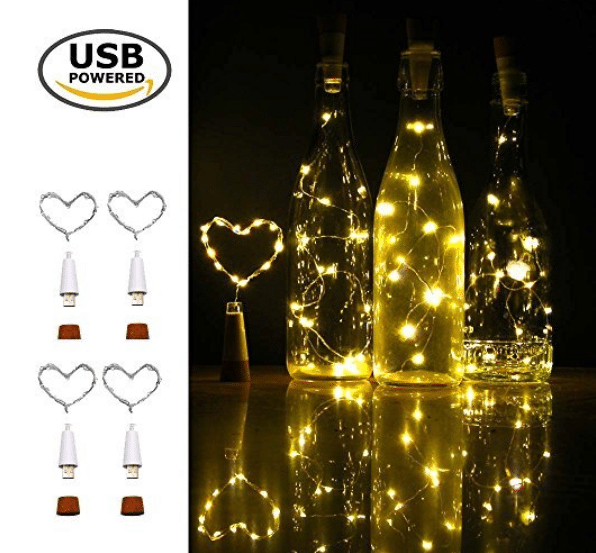 iMazer Wine Bottle Cork Lights