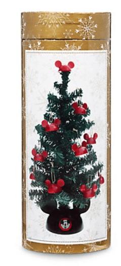Disney Santa Mickey Mouse Tabletop Tree