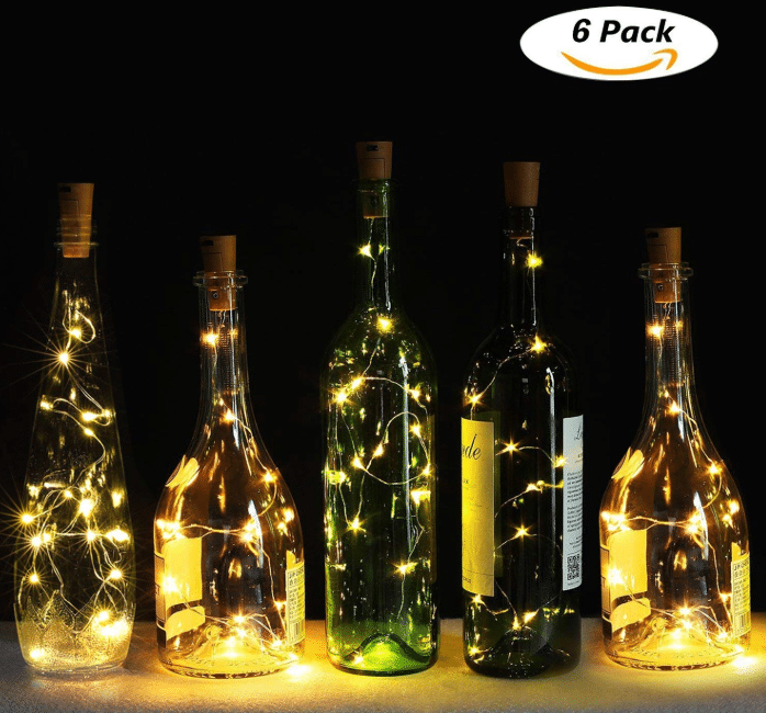 Genround Wine Bottle Cork Lights