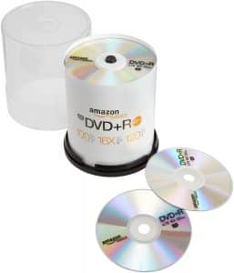 AmazonBasics 4.7 GB 16x DVD-R