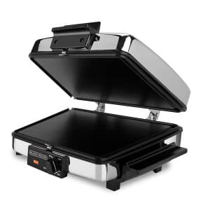 BLACK+DECKER 3-in-1 Waffle Maker with Nonstick