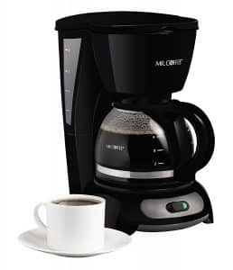 Coffee Black 4-Cup Switch Coffee Maker