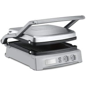 Cuisinart GR150 Griddler Deluxe Brushed Stainless