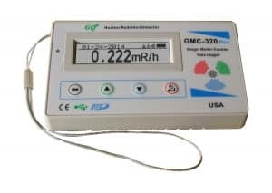 GQ GMC-320-Plus Geiger Counter Nuclear Radiation Detector Meter Beta Gamma X-ray test equipment