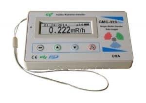 GQ GMC-320-Plus Geiger Counter Nuclear Radiation Detector Meter Beta Gamma X-ray test equipment
