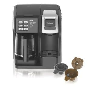 Hamilton Beach Black 49976 2-Way Coffee Maker – Preferred