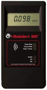 International Medcom Radalert 100X Radiation Detection Instrument Geiger Counter