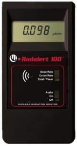 International Medcom Radalert 100X Radiation Detection Instrument Geiger Counter