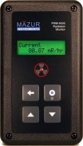 Mazur Instruments PRM-9000 Geiger Counter