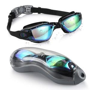 No Leak Swimming Goggles by Aegend