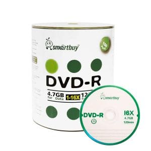 Smart Buy 100 Pack DVD+R 4.7GB 16x
