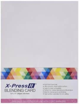X-PRESS IT COPIC BLENDING CARD PAPER SHEETS