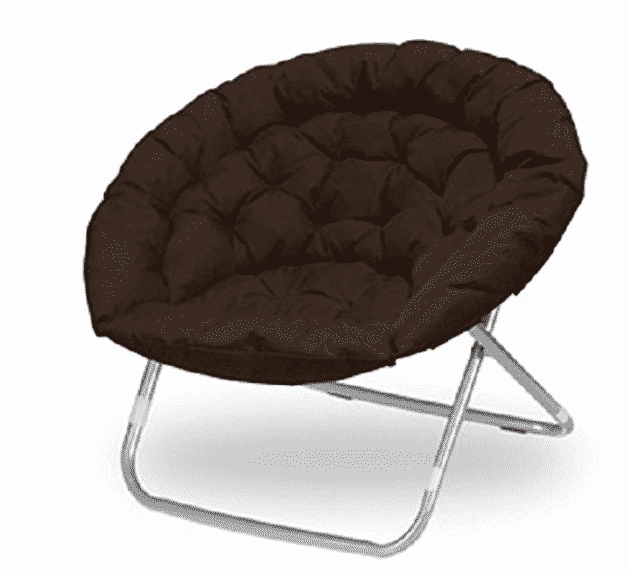 Large Oversized Folding Moon Chair