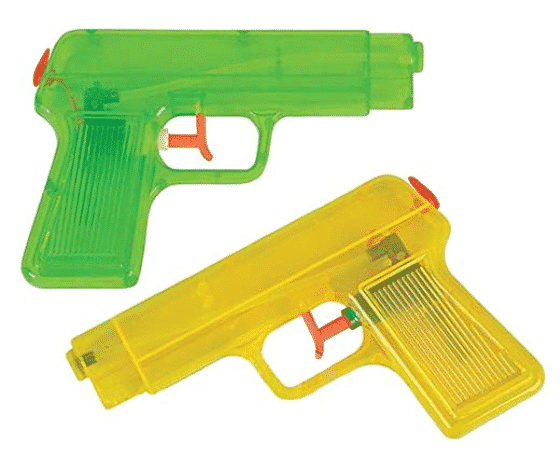 6 Inch Water Pistols - Water Guns
