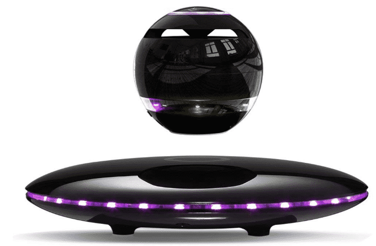 Infinity Orb Magnetic Levitating Speaker Bluetooth 4.0 LED Flash Wireless Floating Speaker